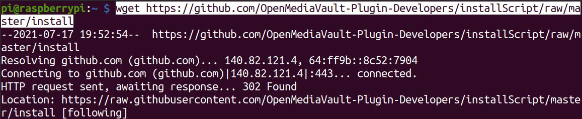 download openmediavault installation script