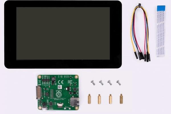 raspberry pi touch screen