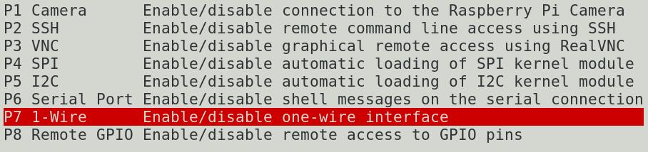 1 wire