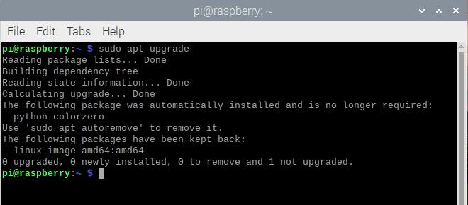 upgrade system