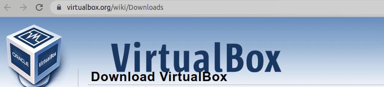 virtualbox website