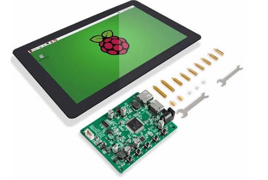 raspberry pi 10 touchscreen